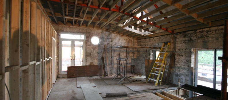 Progress Update : Lany Road Hall Conversion Project